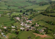 Wootton Courtenay From the Air